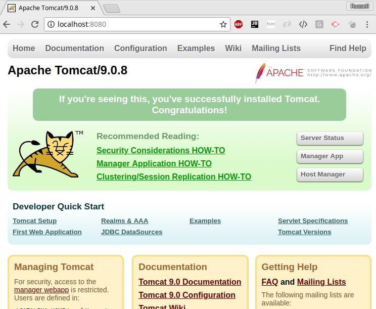 Tomcat Notes