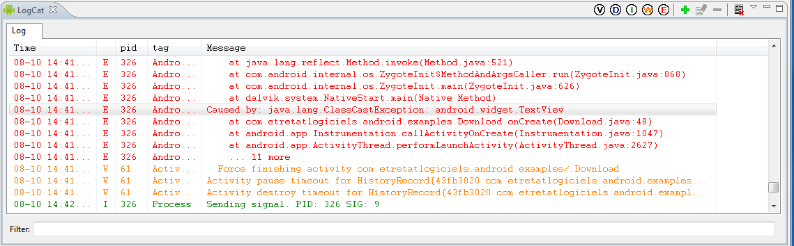 Android Development and Eclipse