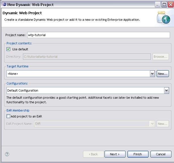 Tutorial: Eclipse Web Tools Platform and Apache Tomcat
